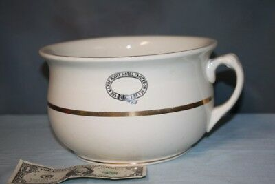 Primitive Stoneware Crock CHAMBER POT The Manor House Hotel Caister-On-Sea