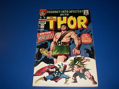 Journey Into Mystery #124 Silver Age Thor Hercules VG+ Wow