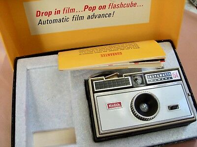 Vintage Kodak Instamatic Camera 154 1960's Era Camera untested