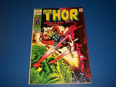 The Mighty Thor #161 Silver Age Galactus FVF Beauty Wow Ego