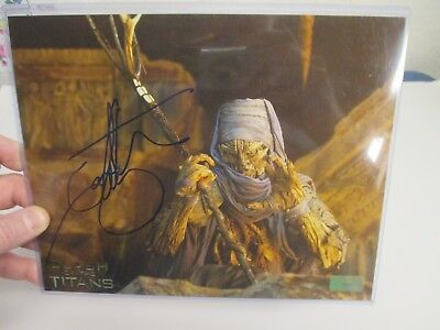 Clash of the Titans IAN WHYTE Autographed HAND SIGNED Hollywood Movie Photo COA