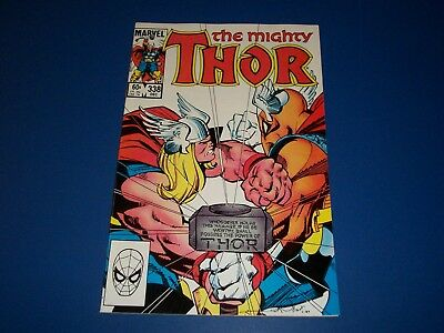 The Mighty Thor #338 2nd Beta Ray Bill NM- Gem Wow