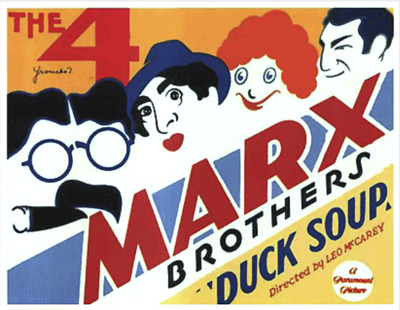 16mm Sound Film: DUCK SOUP (1933) Comedy - THE MARX BROTHERS