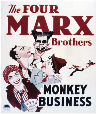 16mm Sound Film: MONKEY BUSINESS (1931) Comedy - THE MARX BROTHERS - Excellent