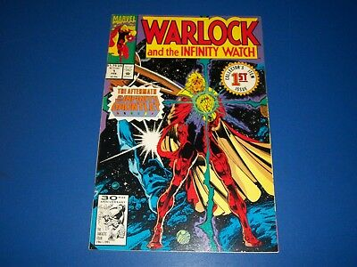 Warlock and the Infinity Watch #1 VFNM Avengers Wow