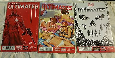 All-New Ultimates 2014 Marvel Comics issues # 3, 4, 5,