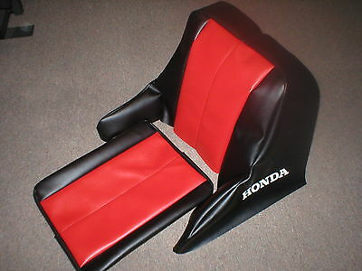 Fl250 Honda Odyssey Seat Cover (Black & Red)