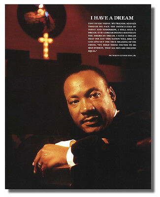 """Martin Luther King """"I Have A Dream"""" 16x20 Wall Art Print Picture"""