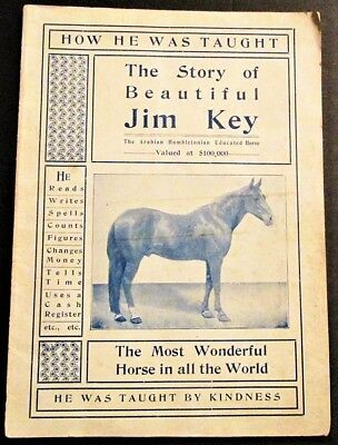 STORY OF BEAUTIFUL JIM KEY MOST WONDERFUL HORSE IN ALL THE WORLD 1901 Booklet