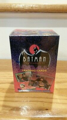 1993 Topps Batman The Animated Series 1 Trading Cards Factory Sealed Box