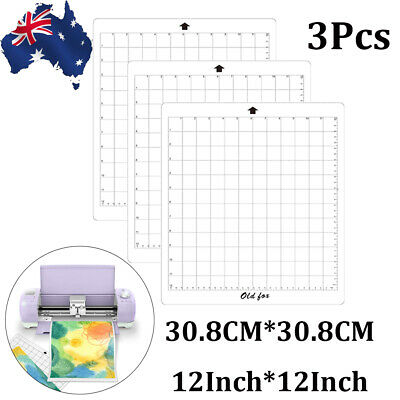 """3pc Replacement Cutting Mat Transparent Adhesive Mat 12*12"""" for Silhouette Cameo"""