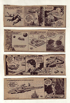 Star Wars by Al Williamson - 26 scarce daily comic strips - Complete April 1981