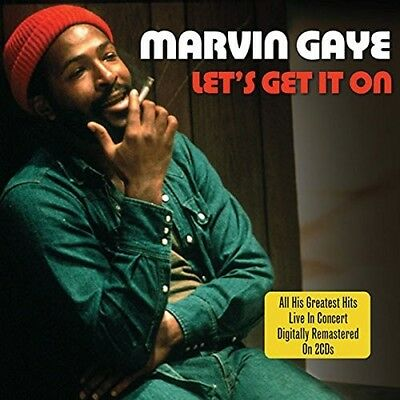 Marvin Gaye - Let's Get It On...his Greatest Hits In Concert 2 Cd New!