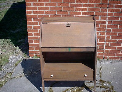Vintage Drop Lid Desk