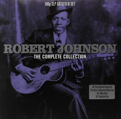 Robert Johnson - The Complete Collection-180G 2Lp Gatefold 2 Vinyl Lp New!