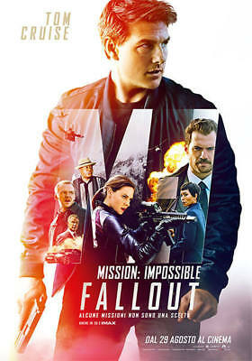 Dvd Mission Impossible - Fallout (Ex Rental)