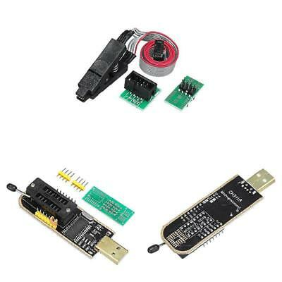 EEPROM BIOS USB Programmer CH341A + SOIC8 Clip + 1.8V Adapter + SOIC8 Adapter