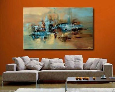ZOPT11 Modern Abstract 100% hand-painted Art Oil Painting Wall art on canvas