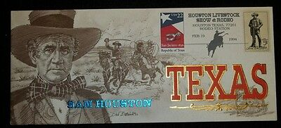Collectible Cachet Sam Houston #303