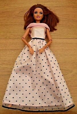 Teresa Life In The Dream House Barbie Doll With Rooted Eyelashes