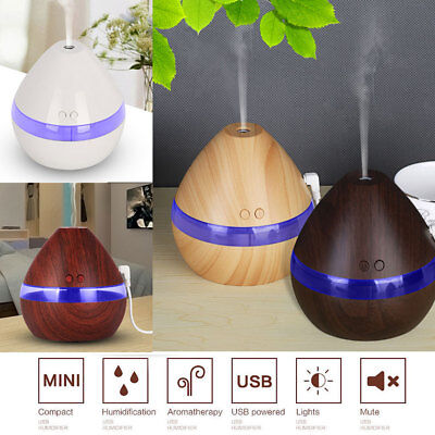 USB LED Ultrasonic Aroma Air Humidifier Diffuser Aromatherapy Purifier