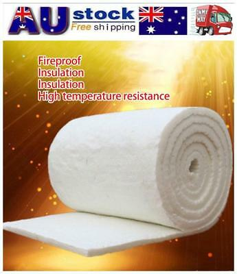 NEW Aluminum Silicate Ceramic Fiber Blanket Insulation High Temperature Mat Pad