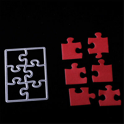 Puzzle Metal Cutting Dies Stencils For Scrapbookings Cards Crafts Embossing FEH