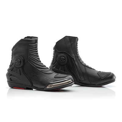 RST Tractech Evo III 3 Waterproof Breathable Short Motorcycle Boot Black 2939