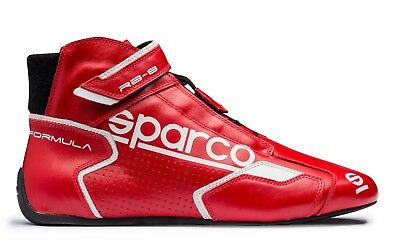 ef3f68c68b Chaussures Sparco Racing New Formule Rb-8.1 Rouge-Blanc Homologué Fia 001251