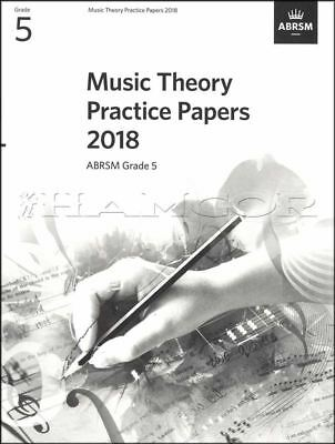 Music Theory Practice Papers 2018 ABRSM Grade 5 Past Exams SAME DAY DISPATCH