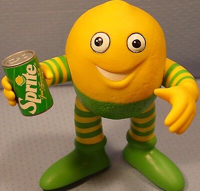 Sprite / Coca Cola Coke 1980's Talking Lymon Figure Mint in Box Free Ship
