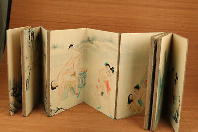 chinese old Paper printing painting different scenarios art book gift decoration