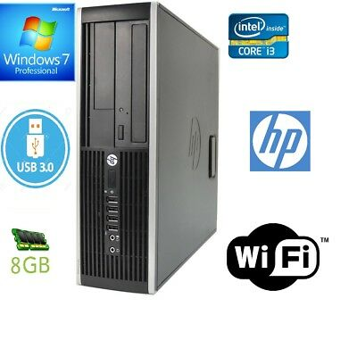 HP Elite 8300 SFF PC, Core i3 3rd Gen, 8GB RAM,160GB HDD, DVD ROM, Window 7 Pro