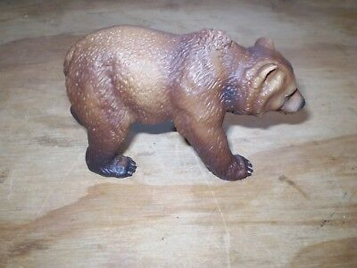 Schleich Grizzly Bear~2003~Wild Life~Animal~Brown