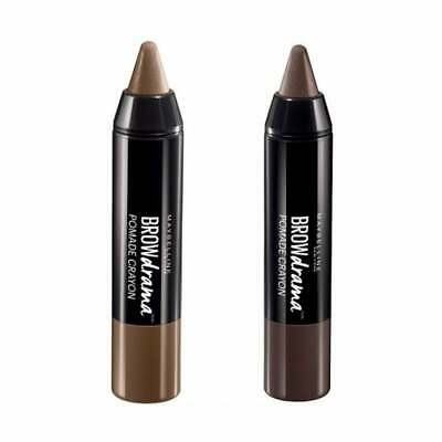 62e83ea74a4 MAYBELLINE BROW DRAMA Pomade Crayon, Soft Brown - $5.49 | PicClick