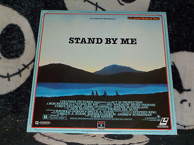 Stand By Me Laserdisc LD Stephen King River Phoenix Free Ship $30 Orders