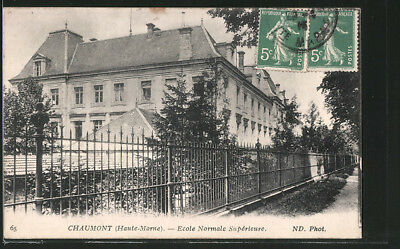 CPA Chaumont, Ecole Normale Superieure 1915