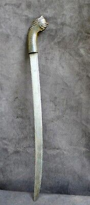 Old and nice quality Golok sword, no mandau, West Java Indonesia