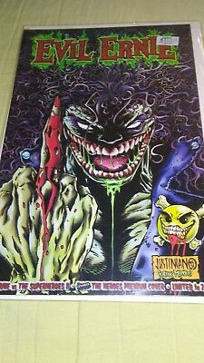 Rare! Evil Ernie vs The Superheroes II Premium Variant Cover LIMITED TO 2000