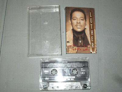 Luther Vandross - Never Let Me Go (Cassette, Tape) Working Tested