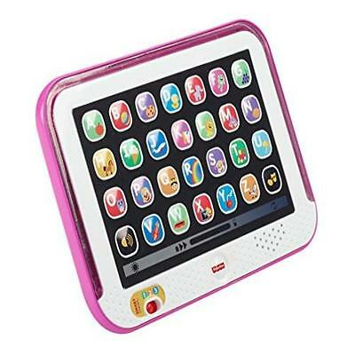 Fisher-Price Laugh & Learn Smart Stages Tablet Pink Introduces Baby To Letter~
