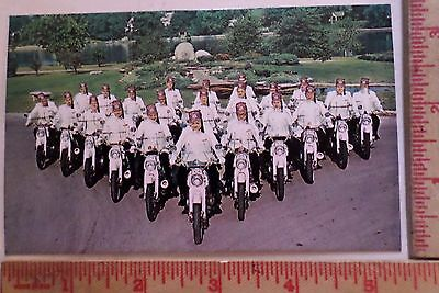 Vintage Shriner gang postcard collectible old scooter advertising card ad