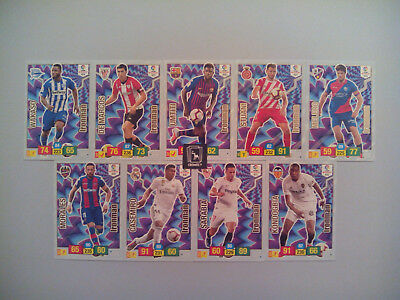 Set Completo 9 Cards Ironman Adrenalyn Xl Liga Santander 2018 2019