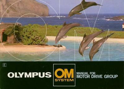 Olympus OM Manual for Motor Drive Group