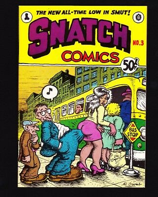 SNATCH #3 (1969) 2nd/3rd PRINTING (ADULT) APEX / CRUMB & WILSON -1 OWNER - NM!