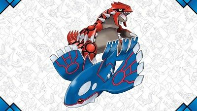 Groudon & Kyogre Raids Pokemon Go Guaranteed Catch! Lot of 3 catches!
