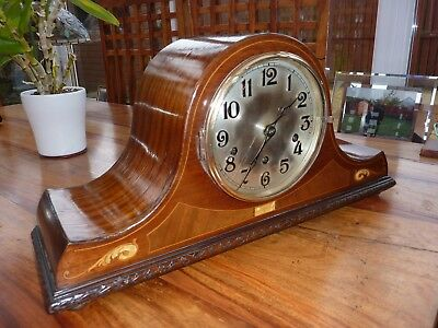 Napoleon Hat Mantle Clock (Large)