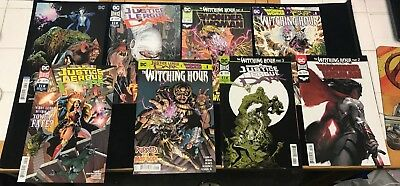 Justice League Dark 1 2 3 4 Wonder Woman 56 57 The Witching Hour 1 - 5 WW Foils