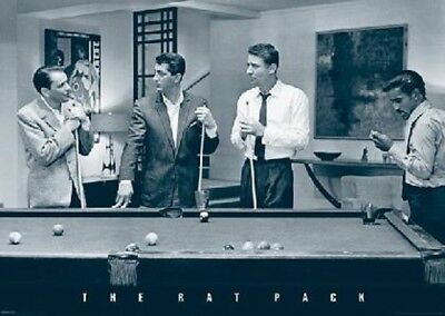 Rat Pack Frank Sinatra,Dean Martin,Peter Lawford,Sammy Davis Jr Poster New  !