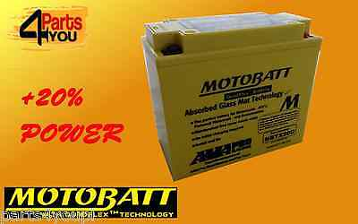 MOTOBATT MBTX16U BATTERY  20% MORE POWER YTX16BS1 YTX20A-BS ctx16-bs YTX20CHBS